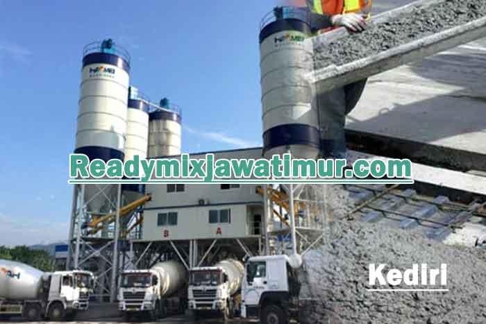 harga beton ready mix kediri