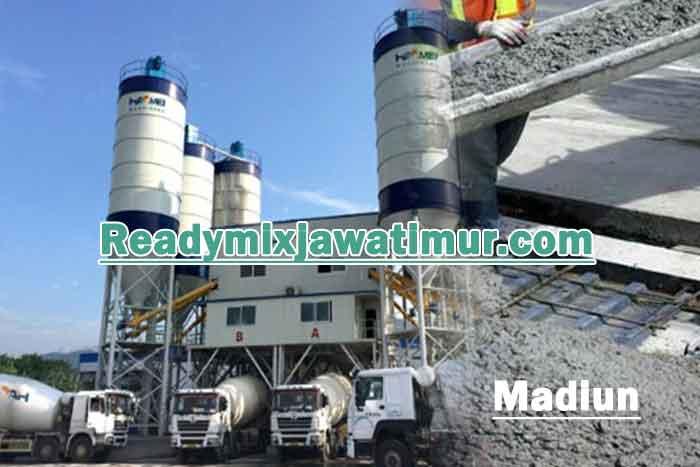 harga beton ready mix madiun