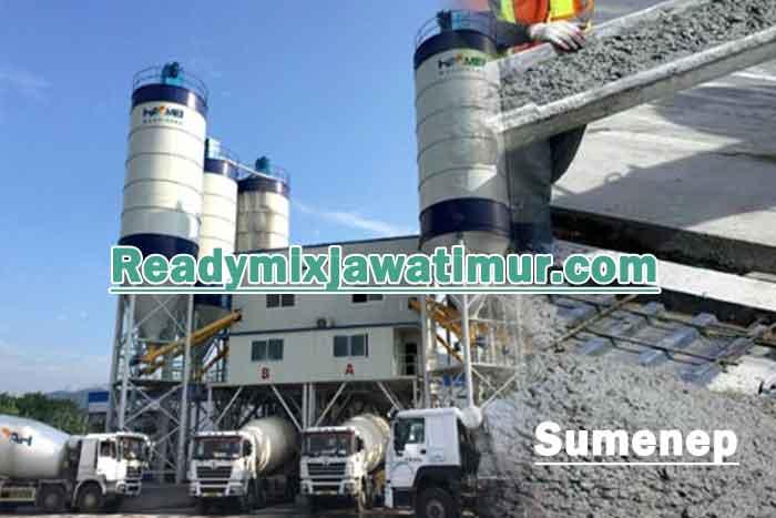harga beton ready mix sumenep